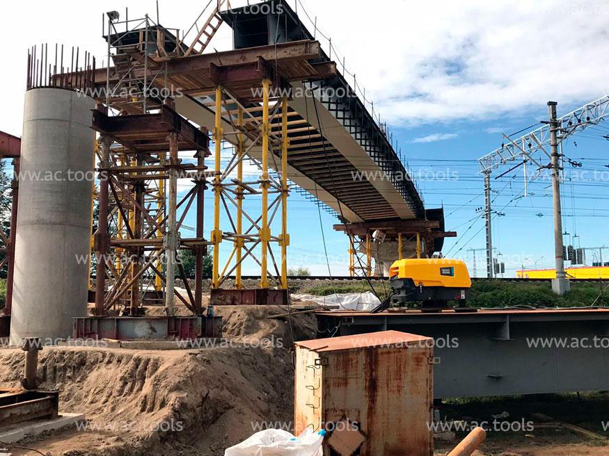Строительство Домодедовского путепровода