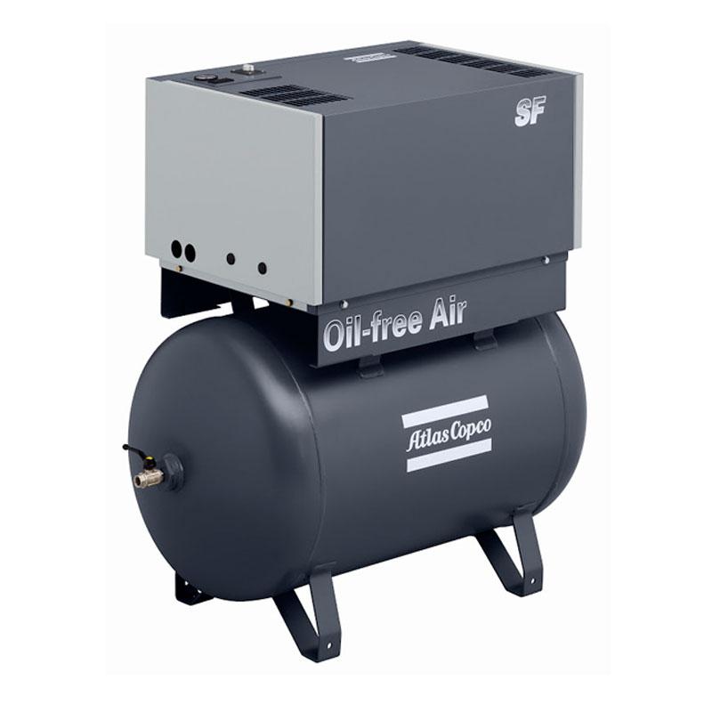 Спиральный компрессор SF 2 - 10 на ресивере