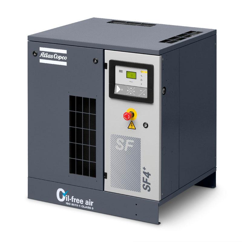 Спиральный компрессор SF 4 на раме