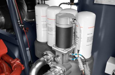 100 % защита от образования конденсата — система Oiltronix