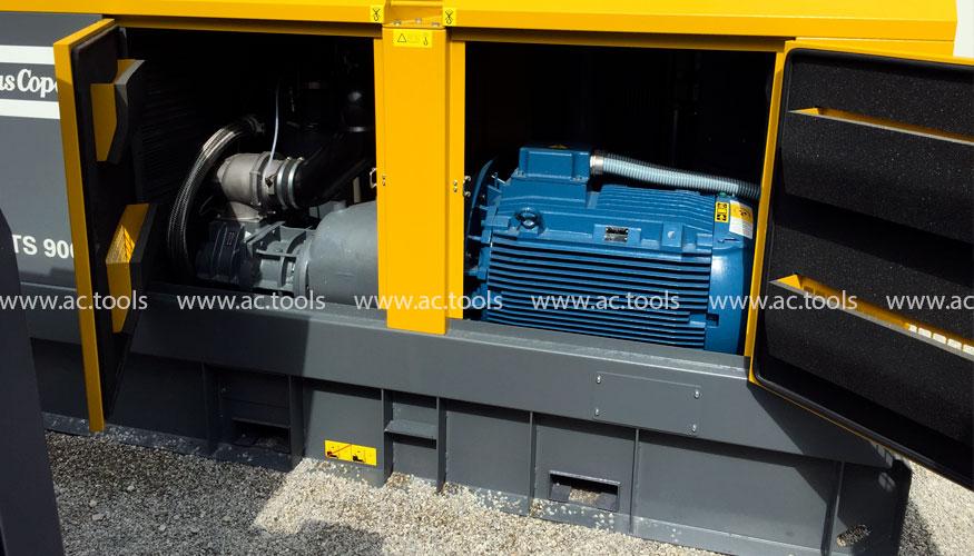 Компактный и легкий компрессор XATS 900E удобно перемещать