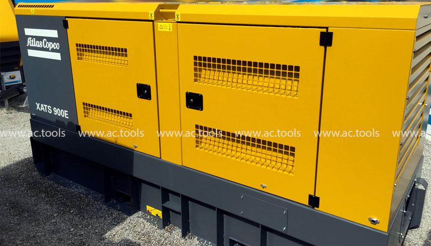 Передвижной электрический компрессор Atlas Copco XATS 900E