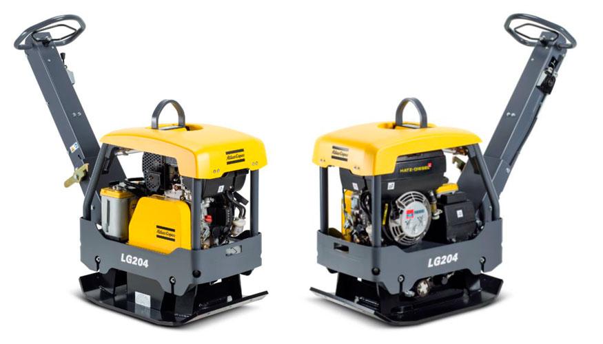 Обновление в линейке плит 200 кг — Atlas Copco LG 204