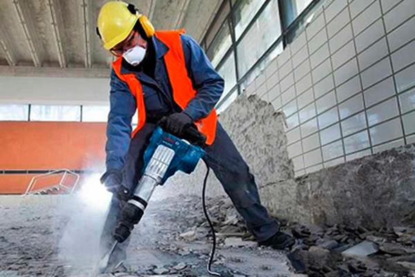Инструкция по работе с отбойным молотком